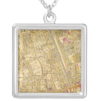 West Roxbury, Massachusetts 3 Silver Plated Necklace