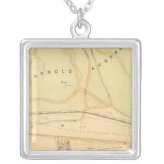 West Roxbury, Massachusetts 4 Silver Plated Necklace