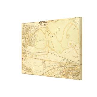 West Roxbury, Massachusetts 5 Gallery Wrap Canvas