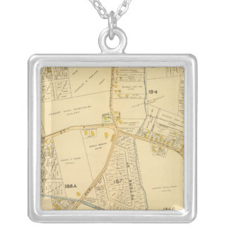 West Roxbury, Massachusetts 5 Silver Plated Necklace