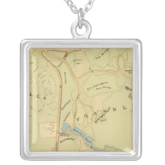 West Roxbury, Massachusetts 7 Silver Plated Necklace