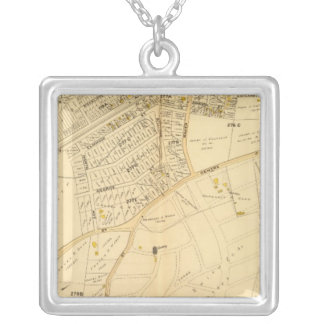 West Roxbury, Massachusetts 9 Silver Plated Necklace