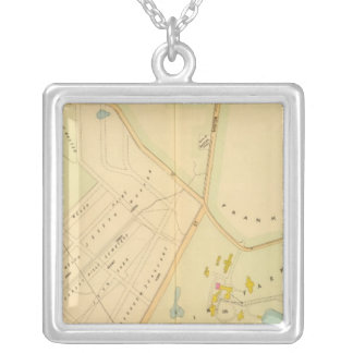 West Roxbury, Massachusetts Silver Plated Necklace