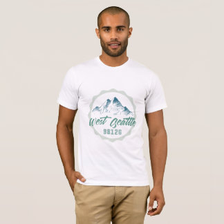 West Seattle 98126 shirt for any size, M/W
