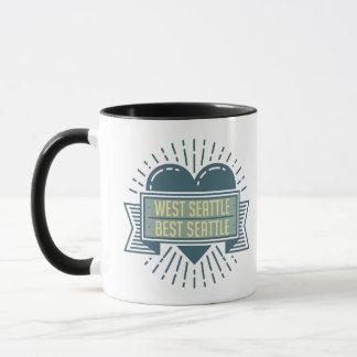 West Seattle Best Seattle mug