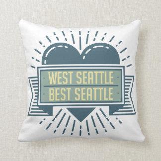 West Seattle is Best Seattle pillow