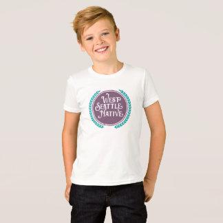 West Seattle Native kids' shirt