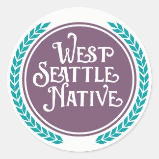 West Seattle Native sticker