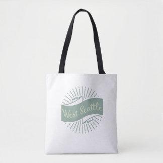 West seattle pride tote bag