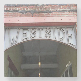 West Side Atlanta Marble Coasters