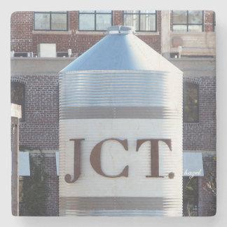 West Side, JCT,  Atlanta Marble Coasters Stone Beverage Coaster
