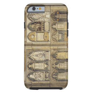West Side of Poet's Corner, plate 24 from 'Westmin Tough iPhone 6 Case