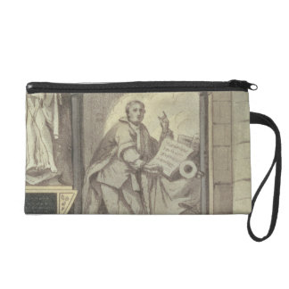 West Side of Poet's Corner, plate 25 from 'Westmin Wristlet Clutches