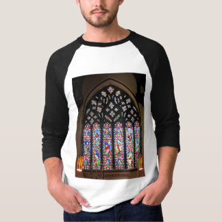 West Stained Glass Window Christ Church Cathedral T-Shirt