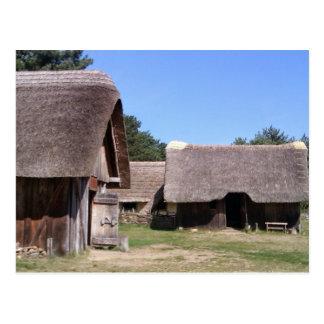 West Stow Anglo Saxon village, Suffolk Postcard