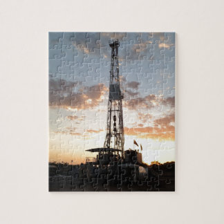 West Texas Drilling Rig Jigsaw Puzzle