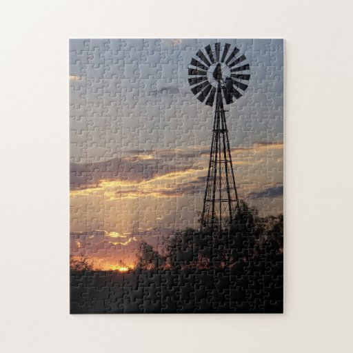 West Texas Windmill Puzzles