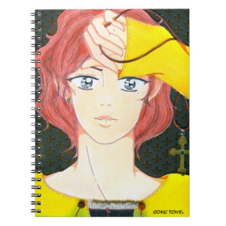 West & The Pledge Spiral Note Book