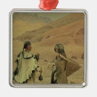 West Tibetans, 1875 Christmas Ornament