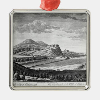 West View of the City of Edinburgh, 1753 Christmas Ornament