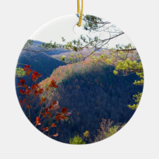 West view of the Pa Grand Canyon.JPG Christmas Ornament