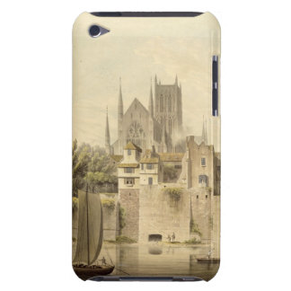 West View of Worcester Cathedral, 1798 (w/c on pap Barely There iPod Cover