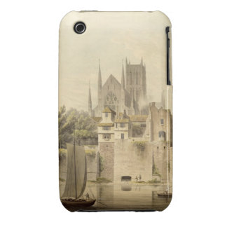 West View of Worcester Cathedral, 1798 (w/c on pap Case-Mate iPhone 3 Cases