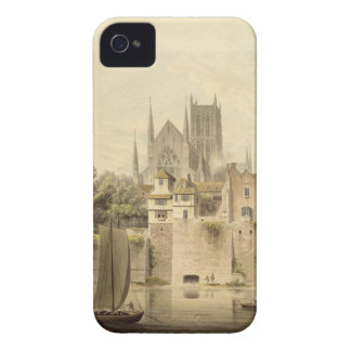 West View of Worcester Cathedral, 1798 (w/c on pap iPhone 4 Case