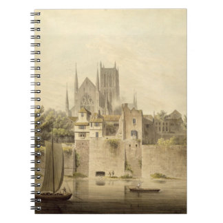 West View of Worcester Cathedral, 1798 (w/c on pap Notebook