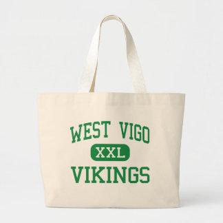 West Vigo - Vikings - High - West Terre Haute Canvas Bag
