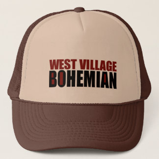 WEST VILLAGE BOHEMIAN TRUCKER HAT