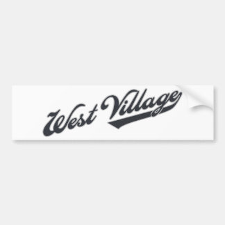 West Village Bumper Sticker