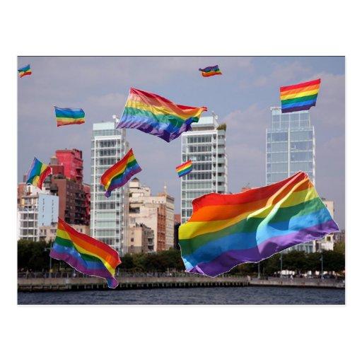 West Village Pride Post Card
