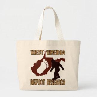 West Virgina Bigfoot Research Jumbo Tote Bag