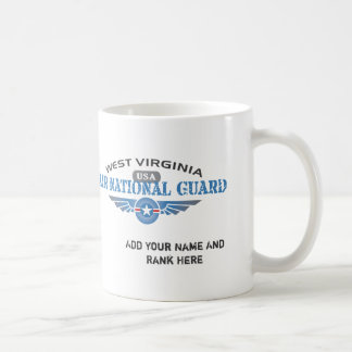 West Virginia Air National Guard Coffee Mugs