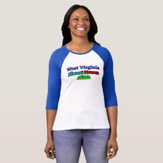 West Virginia - Almost Heaven - Ladies T-shirt