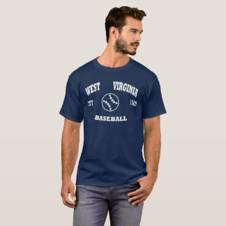 West Virginia Baseball Retro Logo T-Shirt