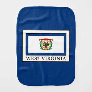 West Virginia Burp Cloth