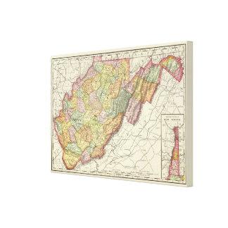 West Virginia Canvas Print