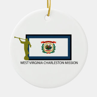 WEST VIRGINIA CHARLESTON MISSION LDS CTR CHRISTMAS ORNAMENT