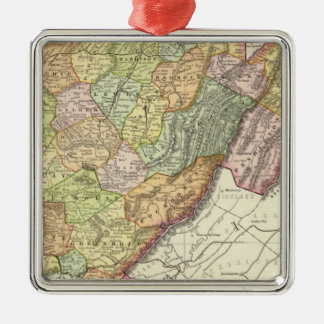 West Virginia Christmas Ornament