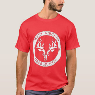 West Virginia Deer Hunter (white) T-Shirt