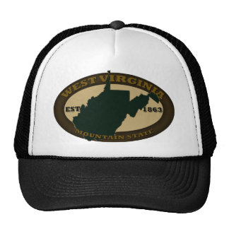 West Virginia Est. 1863 Hats