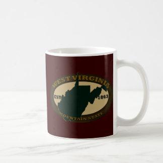 West Virginia Est. 1863 Mugs
