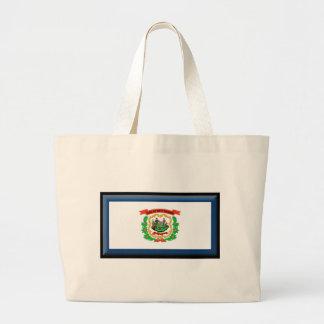 West Virginia Flag Bags