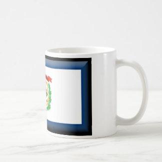 West Virginia Flag Coffee Mug