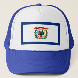West Virginia Flag Hat