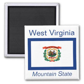 West Virginia Flag Magnet