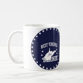 WEST VIRGINIA FOR BERNIE SANDERS COFFEE MUG