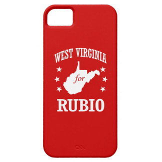 WEST VIRGINIA FOR RUBIO iPhone 5 COVER